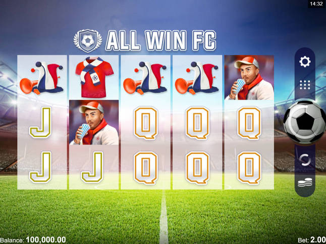 Play 'All Win FC' for Free and Practice Your Skills!